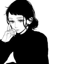 monochrome, hirunaka no ryuusei, and girl image