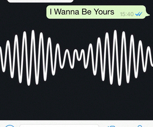 arctic monkeys, r u mine, and i wanna be yours image