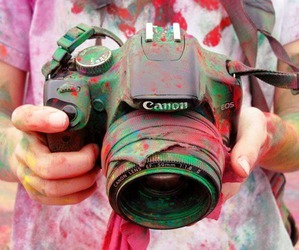 canon, camera, and photography image