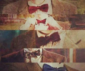 doctor who, matt smith, and bow ties image