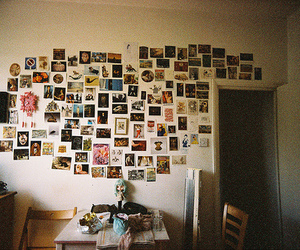 photo, room, and vintage image