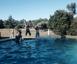 cousins, funny, and jumping image