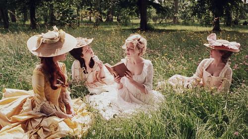 marie antoinette, dress, and Kirsten Dunst image
