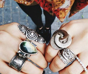 beauty, silver, and style image