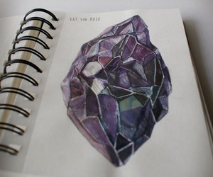 colored pencils, crayons, and diamond image