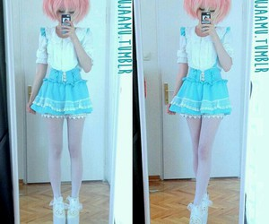 fashion, kawaii, and lenses image