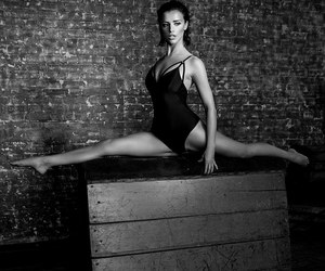 gymnast, photography, and style image