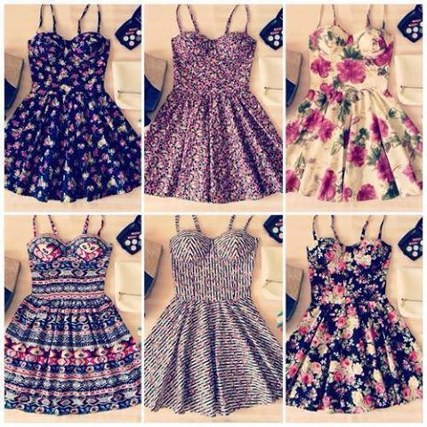 1 Yo Amo Los Vestidos ღ Via Facebook On We Heart It