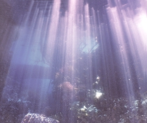 sea, water, and light image