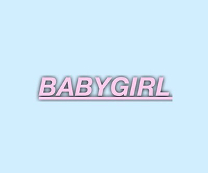 baby, girl, and pale image