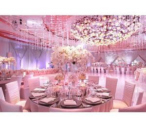 wedding, beautiful, and pink image