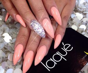 nails, nail art, and laque image