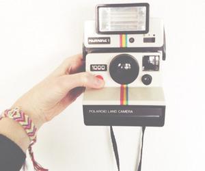 camera, polaroid, and love image