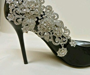 Diamon, elegant, and shoes image