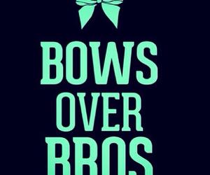 cheer, bows, and bros image