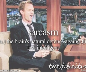 sarcasm and funny image