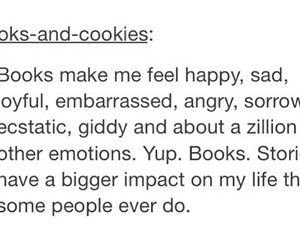 books, emotional, and true image