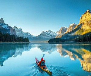 canoe, explore, and kayaking image