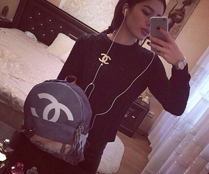 girl, chanel, and fashion image