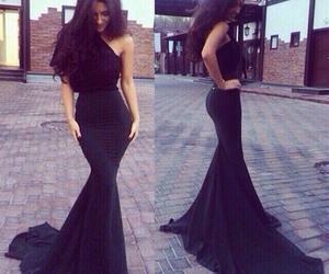 dress, black, and classy image
