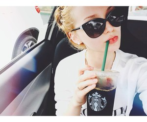 dove cameron and starbucks image
