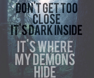 demons, font candy, and imagine dragons image