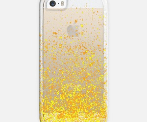 sparkle, transparent, and yellow image