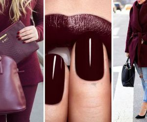 lips, makeup, and nails image