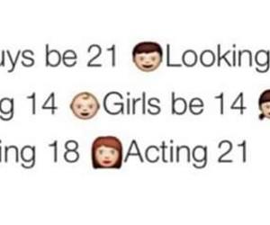 girl, guys, and age image