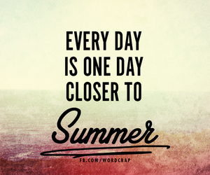 quotes, summer, and words image