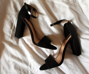 black, shoes, and daily image