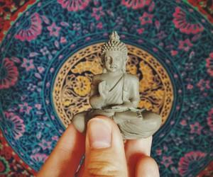 buda, budha, and zen image