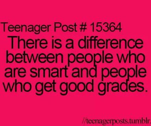 teenager post, smart, and quote image