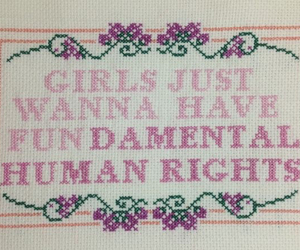 feminist, girl, and rights image