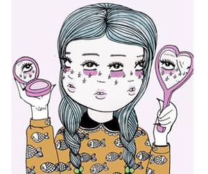 art, valfre, and face image