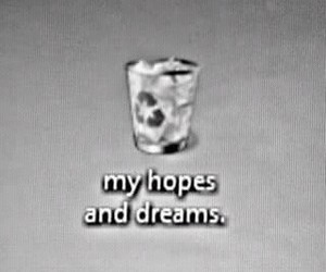 Dream, hope, and black and white image