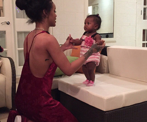 rihanna and baby image