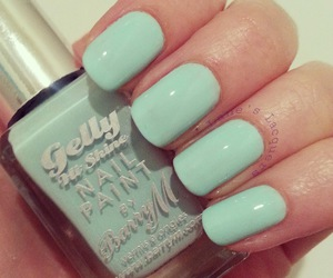 girly and mint green image