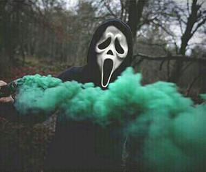 green, grunge, and scream image