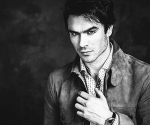 ian somerhalder, damon, and sexy image