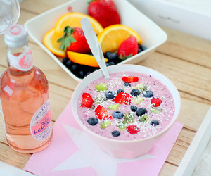 blueberry, strawberry, and food image