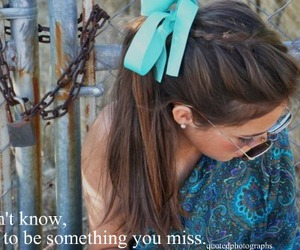 bow, girl, and letters image