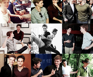bromance, newt, and the maze runner image
