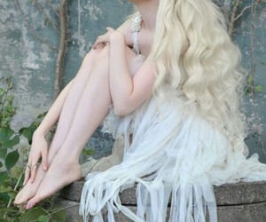 blond, elve, and faery image