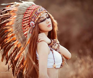faery, feather, and nature image
