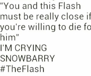arrow, barry, and otp image