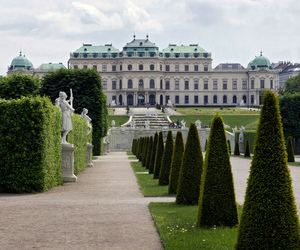 gardens and historical image