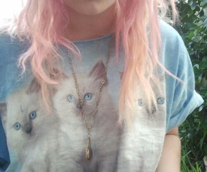 cat, grunge, and piercing image