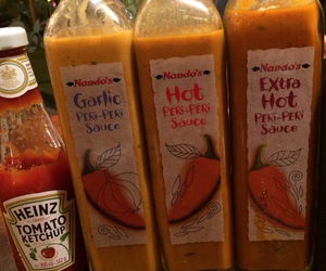 food, Hot, and sauces image