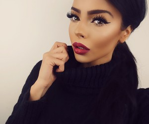 girl, classy, and makeup image